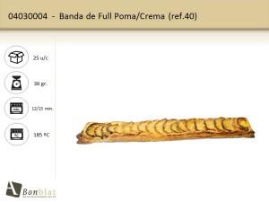 Banda de Full Poma, Crema