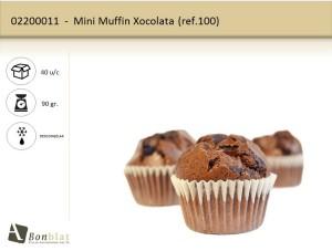 Mini Muffin Xocolata