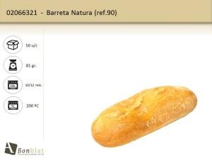Barreta Natura 90