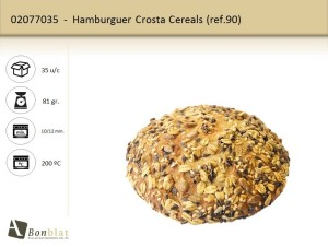 Hamburguer Crosta Cereals