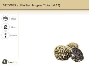 Mini Hamburguer Tinta