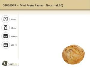 Mini Pagès Panses i Nous