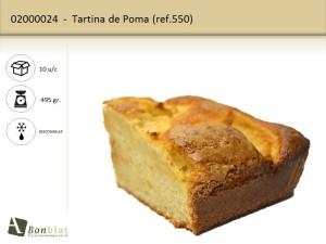 Tartina de Poma