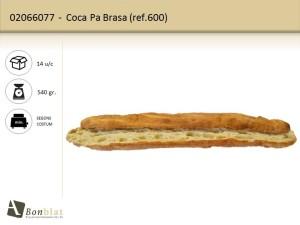 Coca Pa Brasa 600