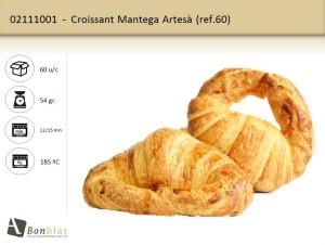 Croissant Mantega Artesà