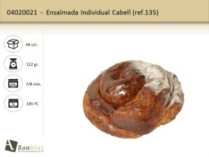 Ensaimada Individual Cabell