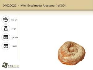Mini Ensaimada Artesana