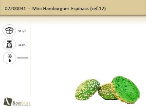 Mini Hamburguer Espinacs