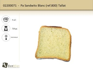 Pa Sandwitx Blanc