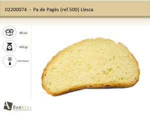 Pa de Pagès 500 Llesca