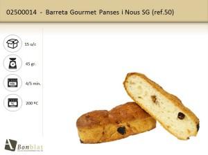 Barreta Gourmet Panses i Nous SG