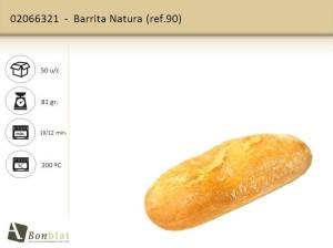 Barrita Natura 90