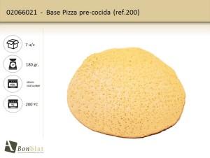 Base Pizza pre-cocida