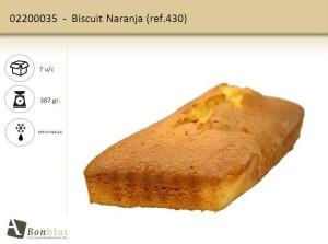 Biscuit Naranja