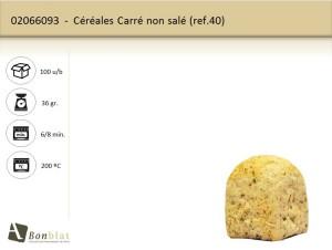 Céréales Carré non salé