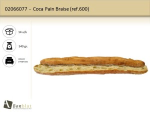 Coca Pain Braise 600