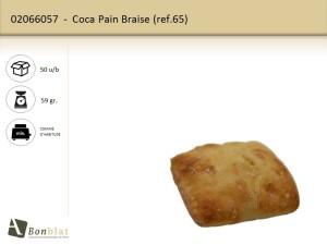 Coca Pain Braise 65