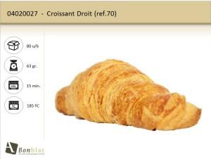 Croissant Droit