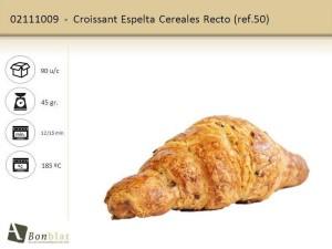 Croissant Espelta Cereales Recto
