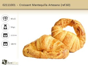 Croissant Mantequilla Artesano
