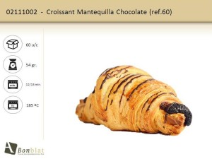 Croissant Mantequilla Chocolate