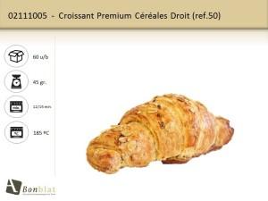 Croissant Premium Céréales Droit