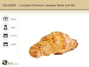 Croissant Premium Cereales Recto