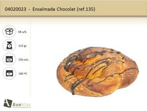 Ensaimada Chocolat