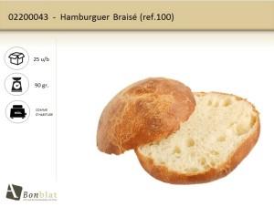 Hamburguer Braisé 100