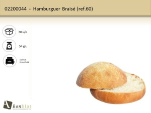 Hamburguer Braisé 60