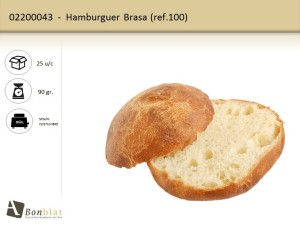 Hamburguer Brasa 100