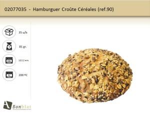 Hamburguer Croûte Céréales