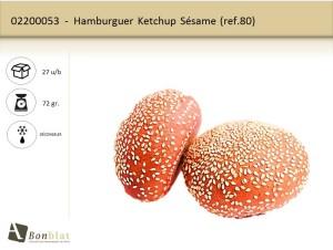 Hamburguer Ketchup Sésame