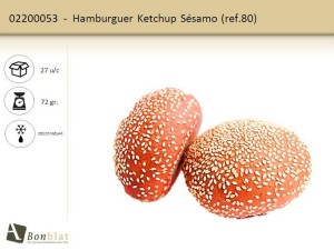 Hamburguer Ketchup Sésamo