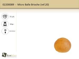 Micro Balle Brioche