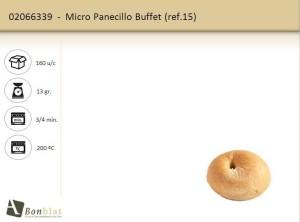 Micro Panecillo Buffet