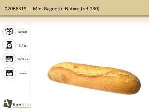 Mini Baguette Nature 130