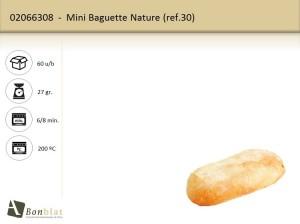 Mini Baguette Nature
