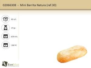 Mini Barrita Natura