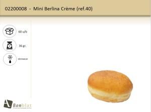 Mini Berlina Crème