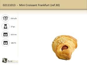 Mini Croissant Frankfurt