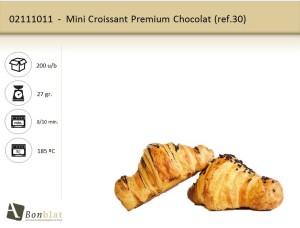 Mini Croissant Premium Chocolat