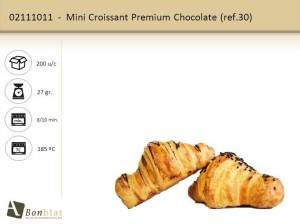 Mini Croissant Premium Chocolate