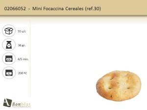 Mini Focaccina Cereales