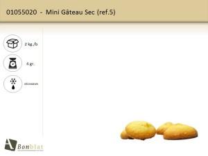 Mini Gâteuau Sec