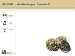Mini Hamburguer Encre