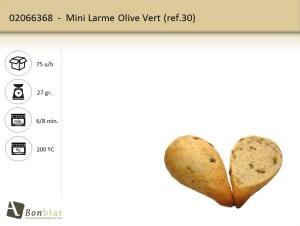 Mini Larme Olive Vert
