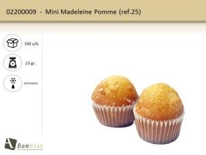 Mini Madeleine Pomme