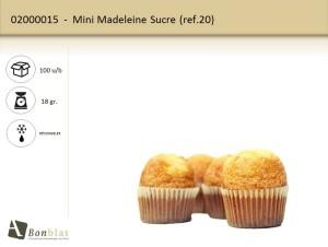 Mini Madeleine Sucre