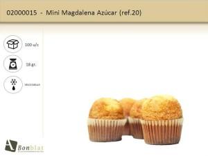 Mini Magdalena Azúcar